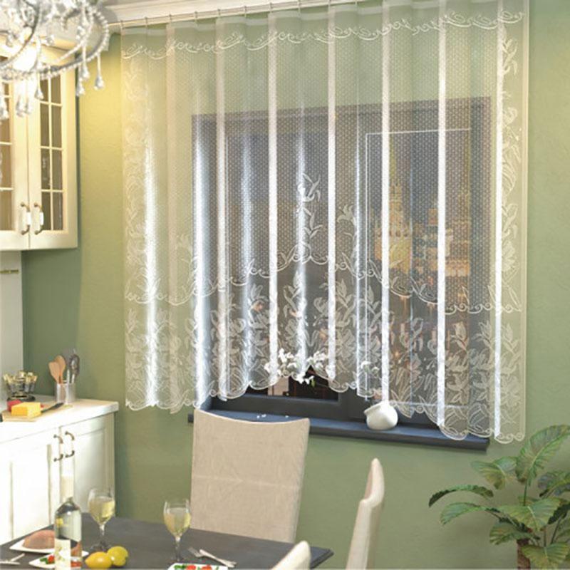 тюль и шторы длинные для кухни фото любой другой