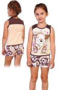 Пижама детская №5000 кулирка (р-ры  30-36) ваниль с мишками 485a63c8080c0