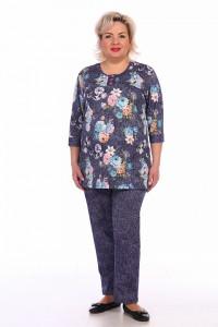 Трикотажные женские костюмы – купить в интернет магазине tekstil-vsem.ru 3e3d8a6c21cdd