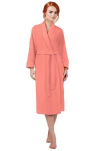 a8b8f4d296545 Женские махровые халаты – купить в интернет магазине tekstil-vsem.ru